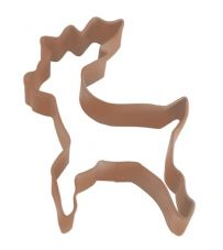 Brown Reindeer Cookie Cutter